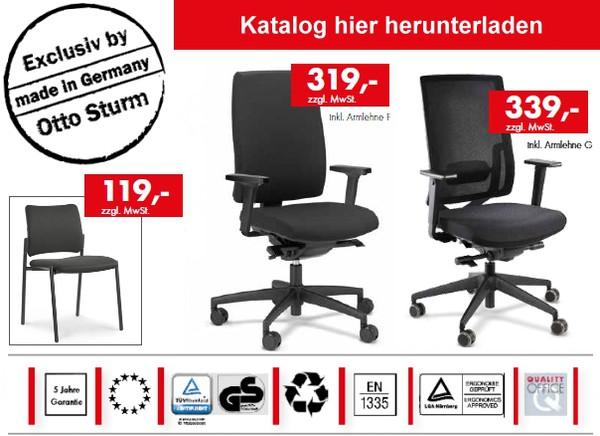 Bürobedarf, Büroeinrichtungen, Büromöbel - Otto Sturm Eningen bei ...